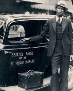 "Satchel Paige - 8"" x 10"" Photo - Pittsburgh Crawfords - Negro League Baseball"
