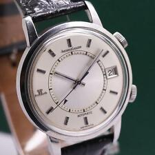 1950's JAEGER LECOULTRE MEMOVOX 875.42 STAINLESS STEEL AUTOMATIC MEN'S WATCH