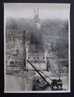 Photo 1946 construction viaduc PONT DE MULHOUSE Nogent sur Marne Le Perreux 6