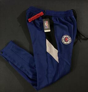 NIKE NBA LA Clipper Tear away Therma Flex Game Pants Medium AV0844-495 PG Kawhi
