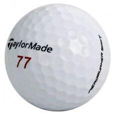 50 Aaaaa+ Mint Taylor Made Aero Burner Soft Used Golf Balls + Free Tees