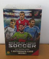 Topps  2016 MLS  Major League Soccer Blaster Box New in Hand 1 Auto Per Box