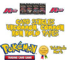 Darkness Team Rocket Common Pokémon Individual Cards