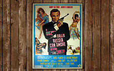 Original Movie Posters James Bond 007 From From Russia With Love 100x140 cm