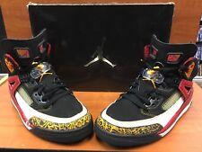 "more photos 44b6b cd060 Nike Air Jordan SPIZ IKE ""King County"" Black Taxi Varsity Red"