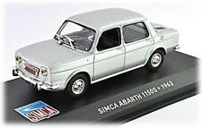 W66 Simca Abarth 1150S 1963 1/43 Scale Silver Tracked 48 Post