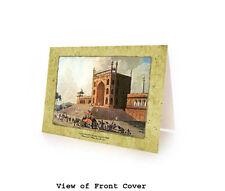 Museum Art Card: Juma Masjid Door, Delhi. Box of 10 Blank Islamic Cards