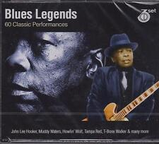 BLUES LEGENDS - VARIOUS ARTISTS on 3 CD'S