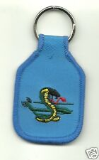Army Cobra Helicopter Embroidered Keychain