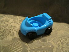 Fisher Price Little People Garage house city vehicle replacement Blue car