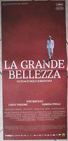 Poster Locandina ORIGINALE -LA GRANDE BELLEZZA - CINEMA ITA SORRENTINO 33x70cm