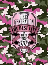 SNSD GIRLS GENERATION THE BEST LIVE at TOKYO DOME DVD + LIVE PHOTO BOOK NEW