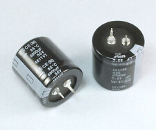 2pcs Panasonic Up 6800uf 50v Radial Electrolytic Capacitor