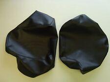 Motorcycle seat cover - Suzuki GSXR750G in black (2 piece seat cover)