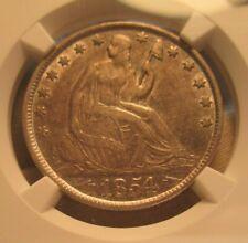 1854-O Seated Liberty Half Dollar Arrows NGC XF45