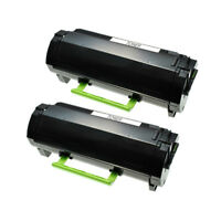 2 TONER for LEXMARK 50F1H00 MS310 MS410 MS610 MS510 MS312 MS315 MS415 (5000Page)