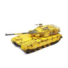 1987 Israel Merkava Mk3 Main Battle Tank Tinplate Antique Style Metal Model