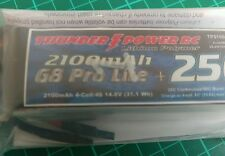 Thunderpower 2100mAh 4 cell lipo 25c