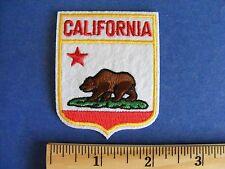 california patch  (small shield shape)