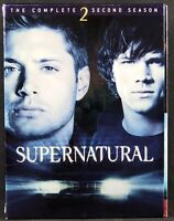Supernatural - The Complete Second Season (DVD, 2007, 6-Disc Set) Used