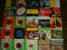 Paket 2 / 26 Stück Vinyl Single 45, Sammlung Klassik, Operette ( Vinyl Top ! )