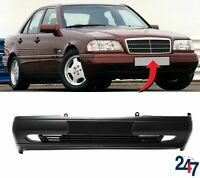 FRONT BUMPER WITH CENTER MOULDING COMPATIBLE WITH MERCEDES BENZ C W202 93-96