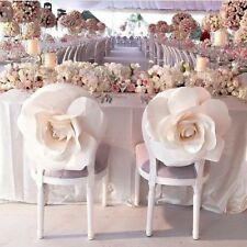 "Giant Paper Flower 16"" White Weeding Decor birthday decor special event decor"