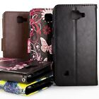 For LG K3 Premium Wallet Synthetic Leather Phone Cover