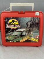 1992 Vintage Jurassic Park Lunchbox with RECALLED Biohazard Thermos, NOS