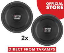 """2x 7Driver 10"""" MH 420 8 Ohm Speaker 420W RMS by Taramps Direct From Taramps"""