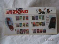 2008 FRANCOBOLLI James Bond nel pacchetto di presentazione