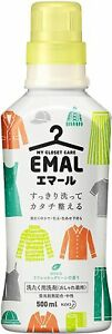 Kao EMAL Delicate Laundry Detergent Fresh Green Scent 500ml From Japan