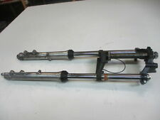 5. HONDA CX 500 C PC01 Gabel 33 mm komplett mit oberer unterer Gabelbrücke fork