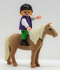 KLEINES MÄDCHEN MIT PONY  Playmobil zu Kappe Kind Pferd Ponyhof Reiterhof Spirit