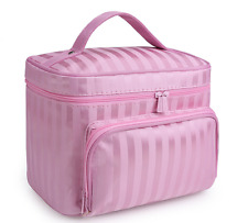 Travel Cosmetic Makeup Toiletry Case Bag Wash Organizer Storage Pouch Handbag US