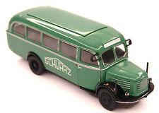 H0 BREKINA Steyr 380/II Werkststtwagen SCHWARZ BAU Baufirma Schwarzbau # 58006
