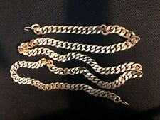 """Long Chain 50"""" Belt /Necklace. Heavy gold plated Vintage"""