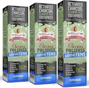 My Magic Mud Charcoal Teeth Whitening Toothpaste Verified Enamel Safe &
