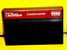 Cyborg Hunter Sega Master System Catrige Only Excellent Working condition