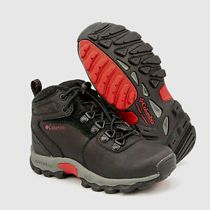 Boys Boots Columbia Newton Ridge Ankle Lace Up Hiking Boots NEW