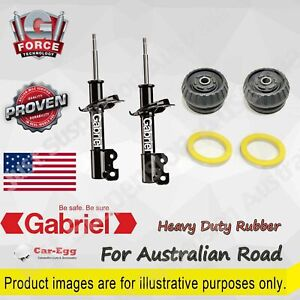 Shock Absorbers + Strut Mount Bearing HD Kit for Holden Commodore VR VS VT VX VY