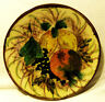 [Wandteller - Wall plate] Obst / fruits handpainted similary Puigdemont style