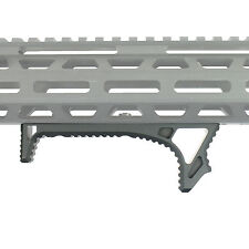 LINK Curved Angled Fore Grip Fits M-LOK Rails - Black