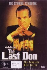 THE LAST DON - GREAT MAFIA SERIES - COMPLETE SERIES 1  NEW DVD FREE LOCAL POST