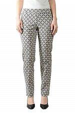 Krazy Larry Women's 2 Diamond Pull on Ankle Pants NWOT $119