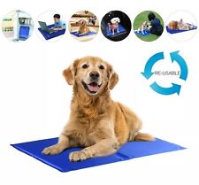 CRUFTS DOG CAT PET SELF COOLING MAT 40 X 30 CM FOR TRAVEL CAR HOT DAY JOINT PAIN