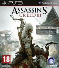 Assassin's Creed III (Exclusive Edition)[PS3], Good PlayStation 3, Playstation 3