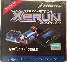 XERUN Blue Brushless Combo X6A - 120A ESC / 10.5T 3300kv Motor / LCD Program Box
