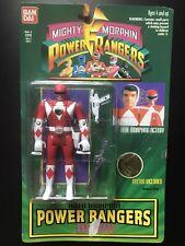 Vintage 1994 Bandai Mighty Morphin Power Rangers red Jason NIP