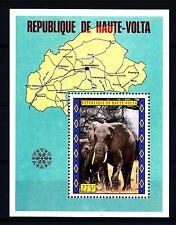 UPPER VOLTA - ALTO VOLTA - BF - 1973 - Turismo - Elefante